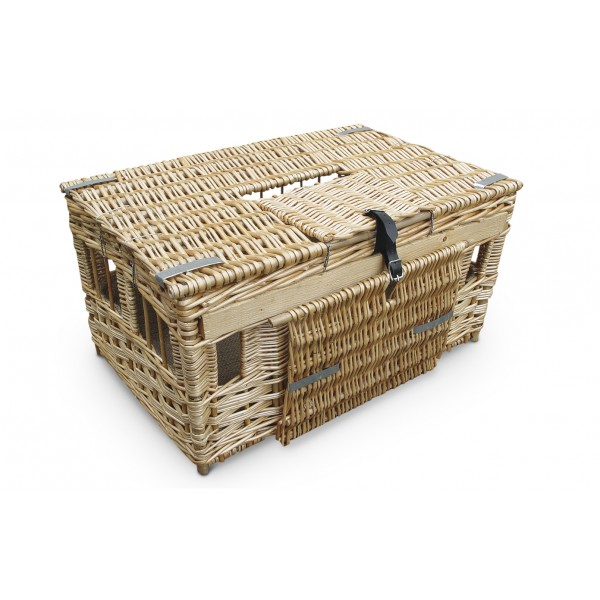 Training basket in reed English small