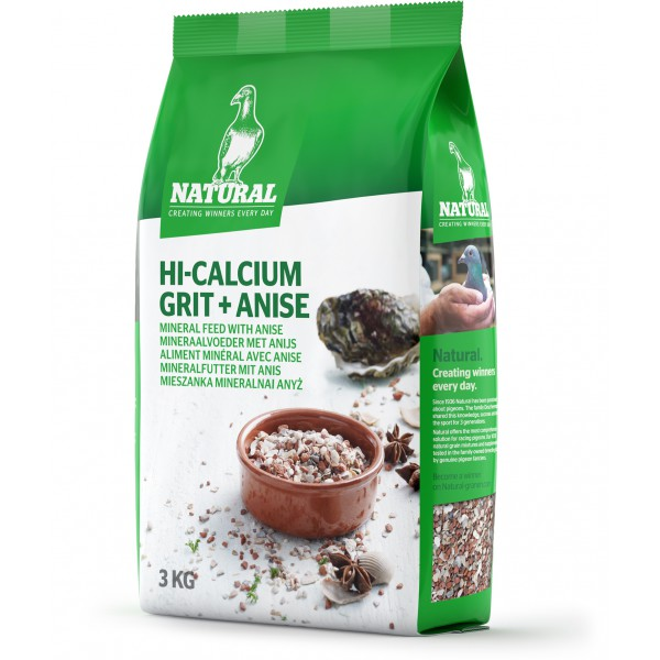 Natural Hi-Calcium Grit + Anise