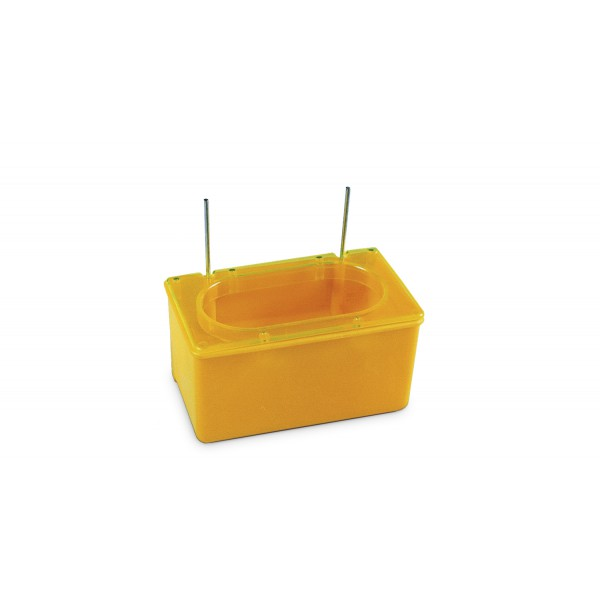Nest Box Cup with lid and replaceable wire