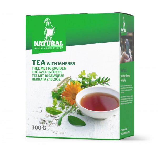 Natural Tea with 16 herbs